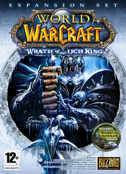 WoW: Wrath of the Lich King box art
